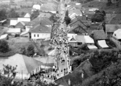 Borșa în anul 1957