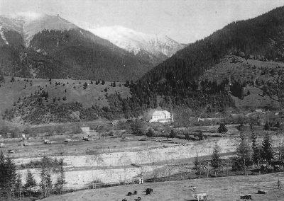 Baia Borșa, anul 1900