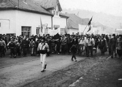 Revoluția de la 1989, Borșa